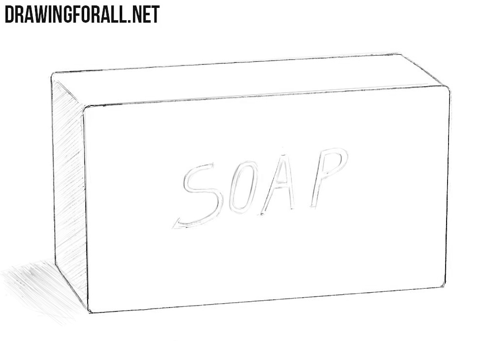 How to draw a soap