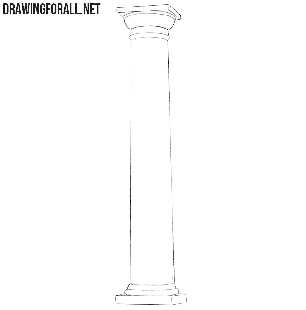 How to draw a column easy