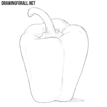 How to Draw a Bell Pepper