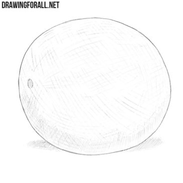 How to Draw a Cantaloupe