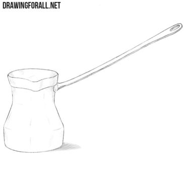 How to Draw a Cezve