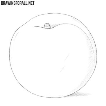 How to Draw a Nectarine