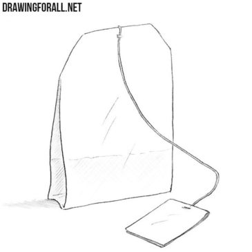 How to Draw a Tea Bag