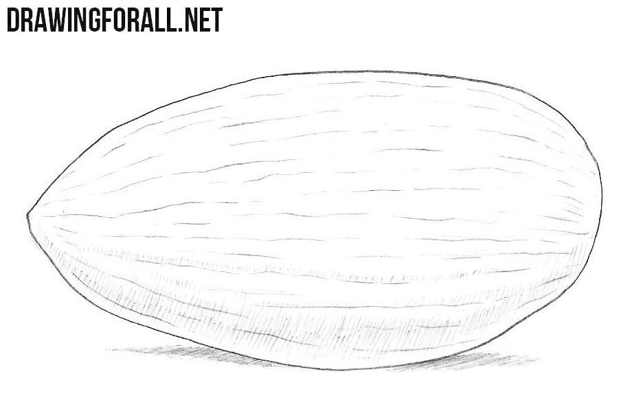 Almond drawing