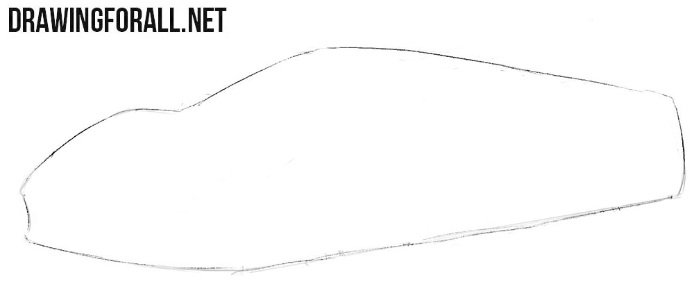 How to draw a Ferrari for beginners
