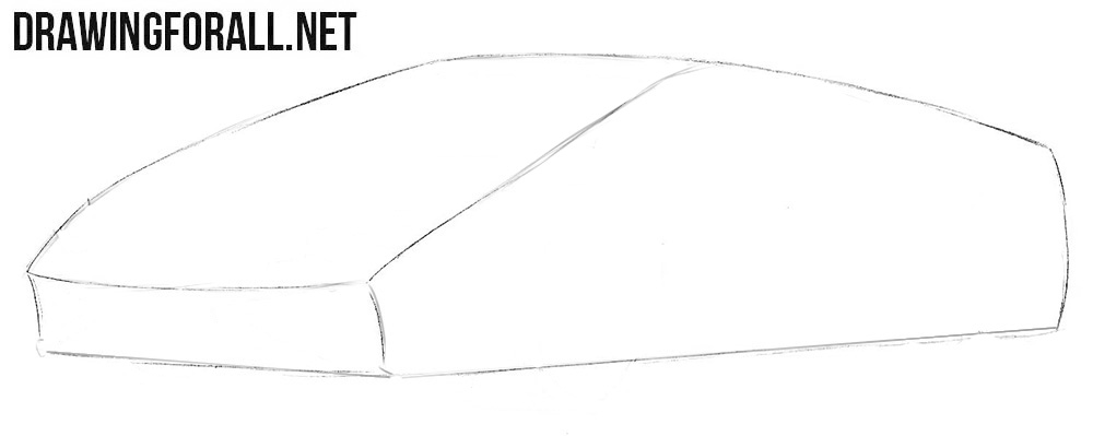How To Draw A Lamborghini Huracan Drawingforall Net