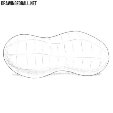 How to Draw a Peanut