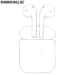 How to Draw Apple AirPods
