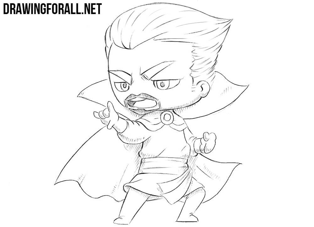 How To Draw Chibi Dr Strange Drawingforall Net