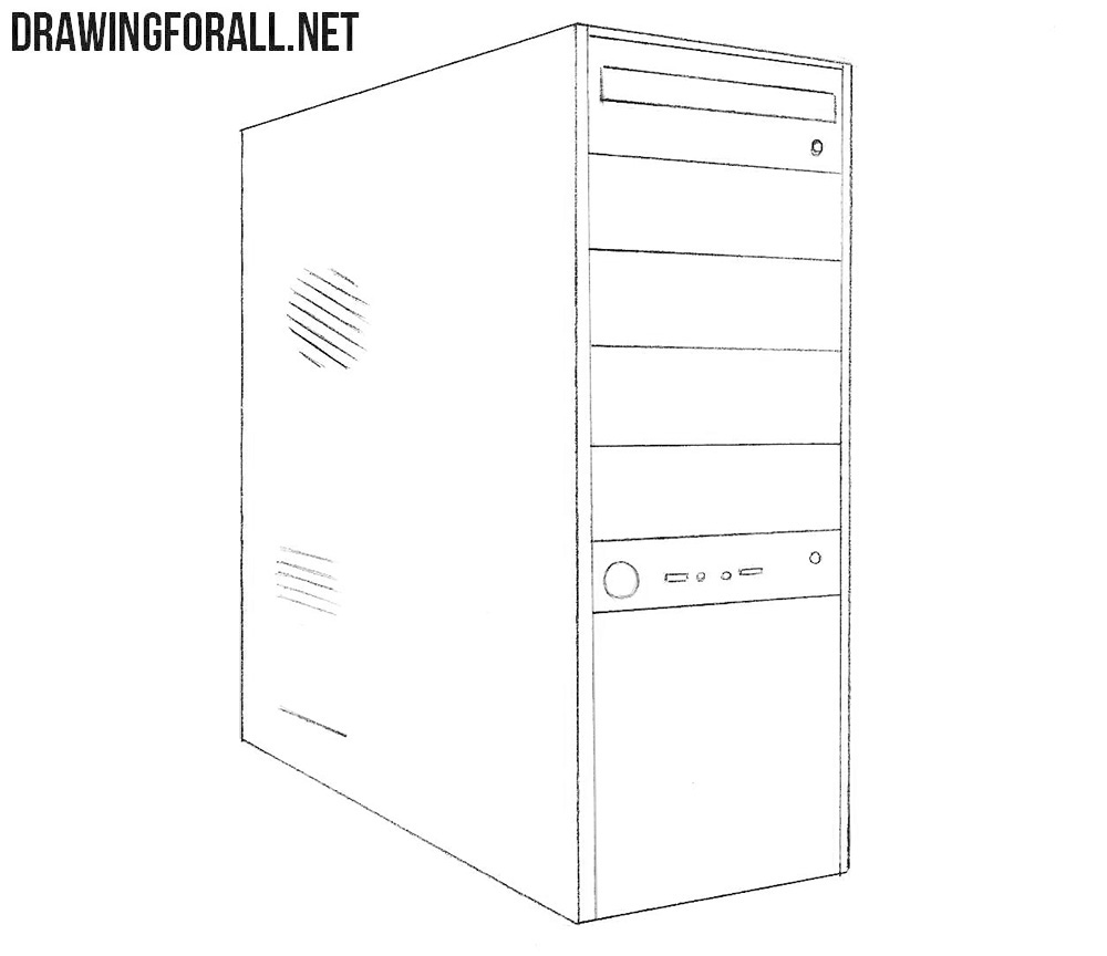 System unit drawing