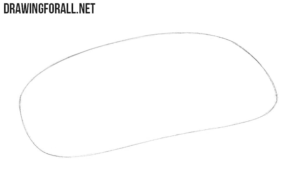 How to draw an Apple Magic Mouse