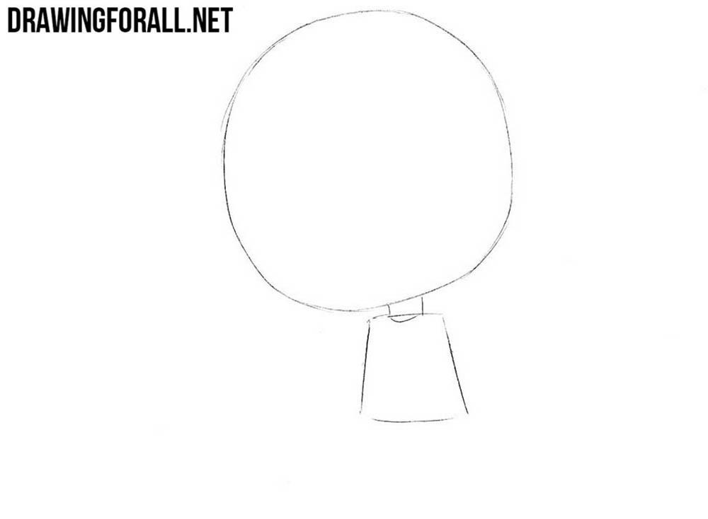 How to draw chibi Yuno Gasai