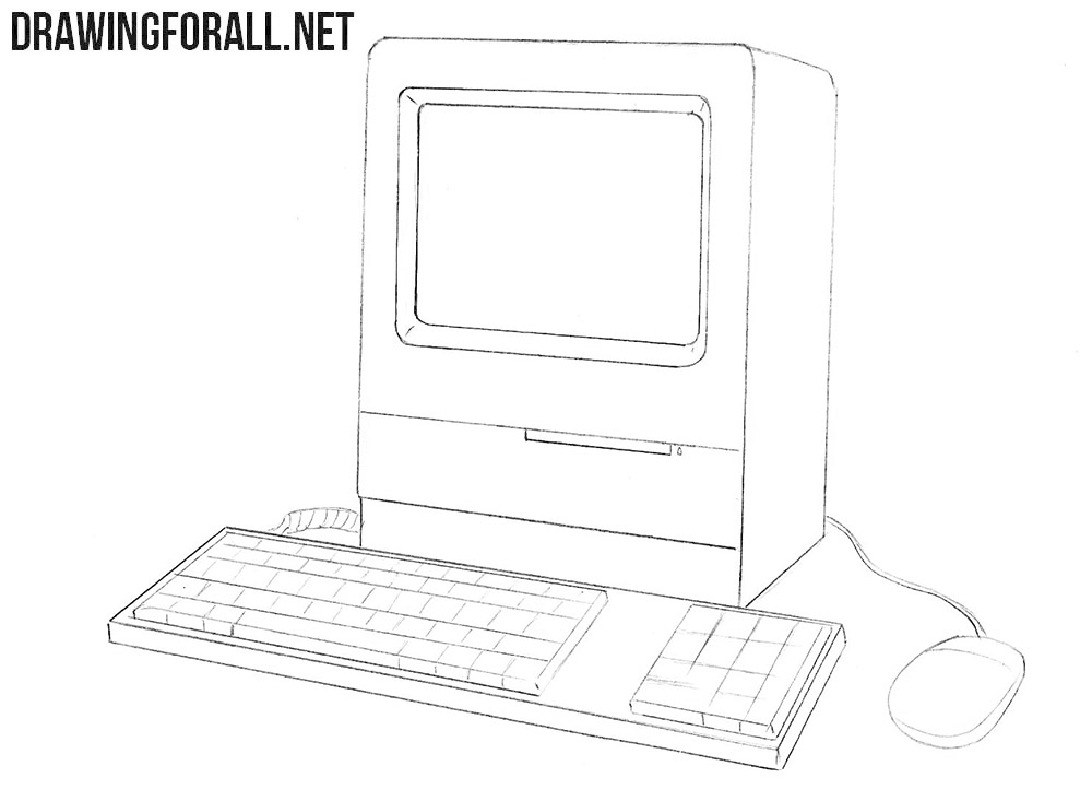 How to draw an Apple Macintosh