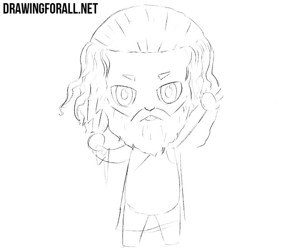 How to draw chibi mythology