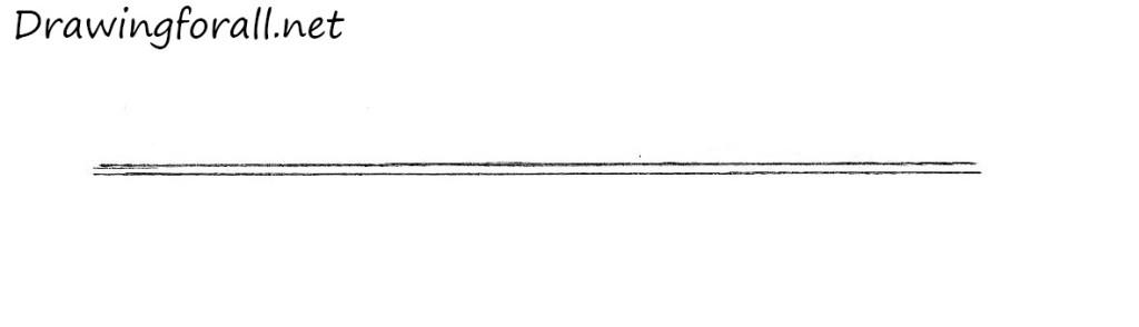 how to draw arrow step by step