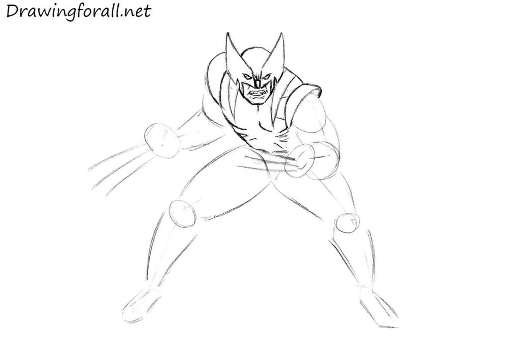 wolverine pencil