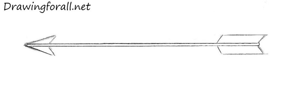arrow drawing pencil