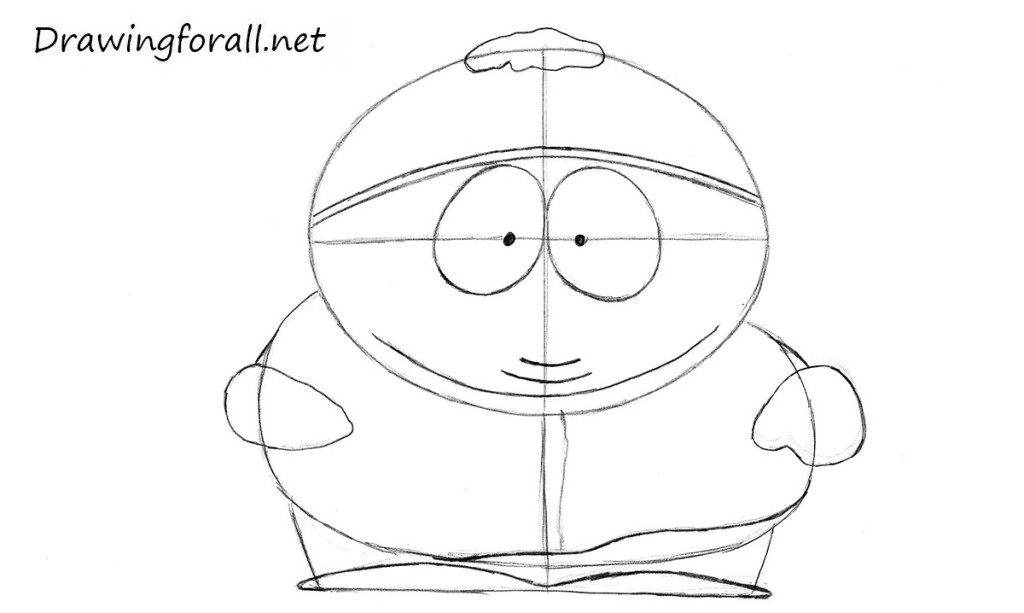learn how to draw eric cartman