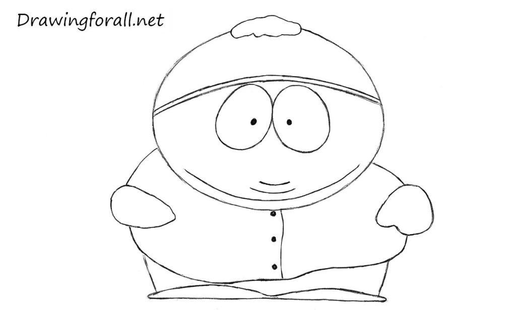 eric cartman drawings