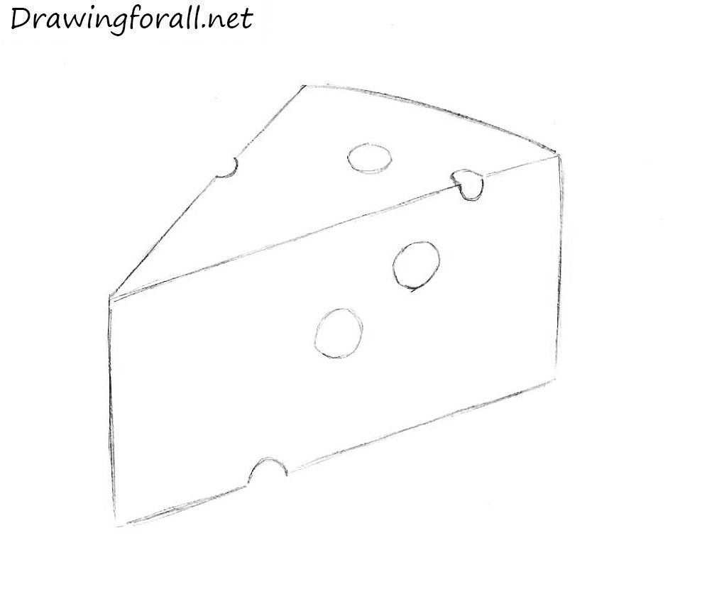 draw a cheese
