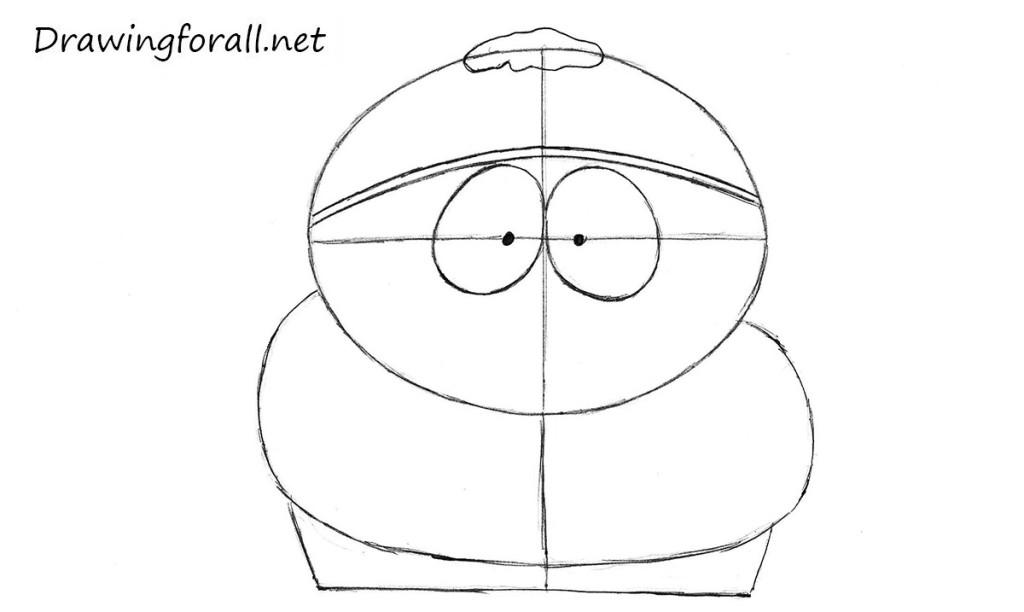 drawing eric cartman