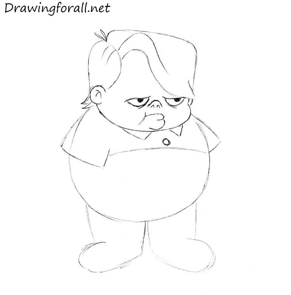 drawing fox kids