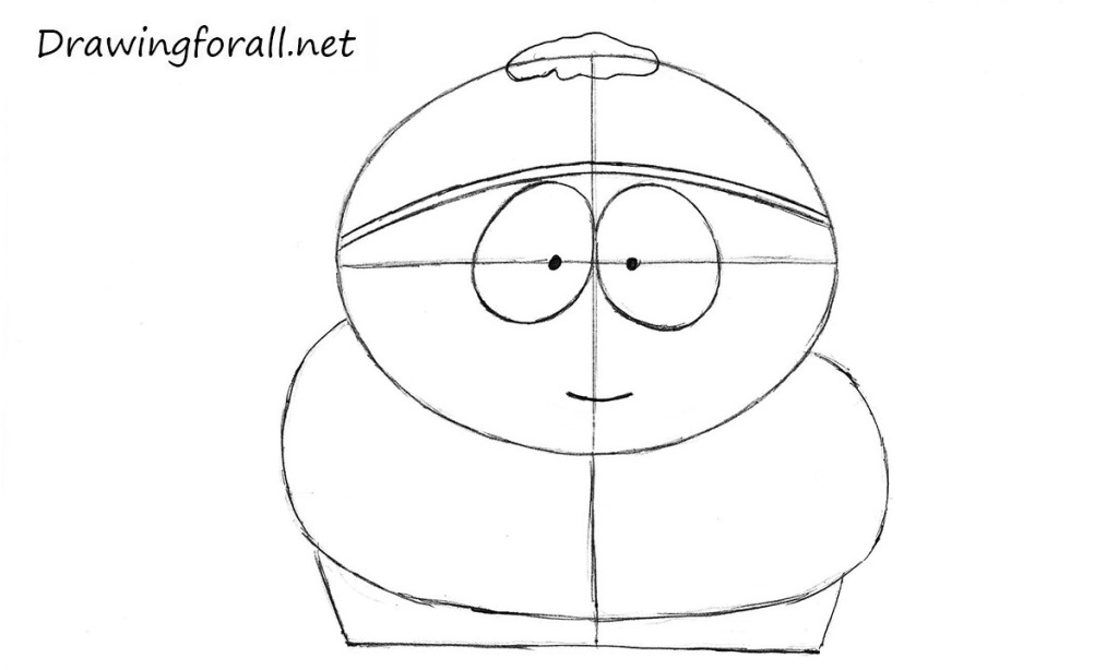 how to draw cartman