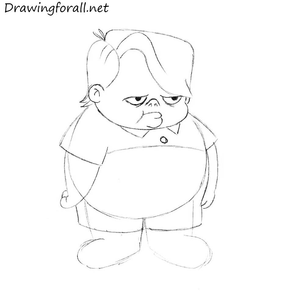 how to draw louie anderson