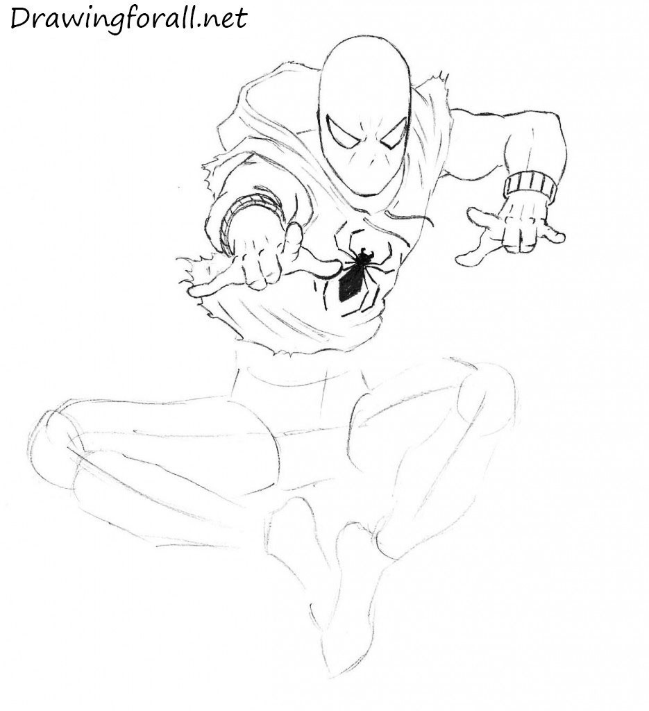 How to Draw the Scarlet Spider