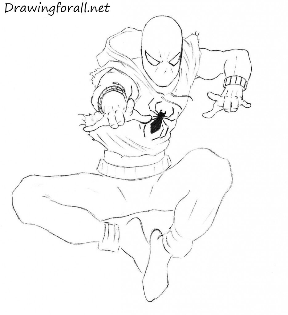How to Draw Ben Reilly