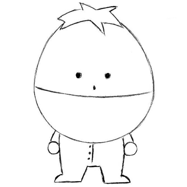 How to Draw Ike From South Park