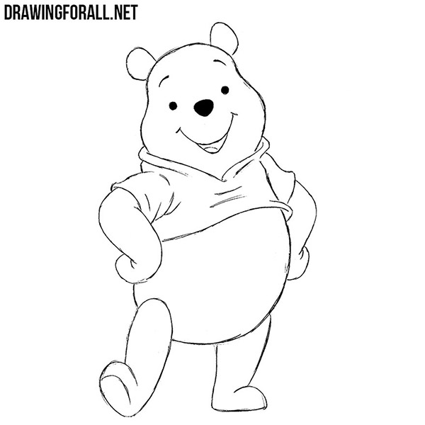 How To Draw Winnie The Pooh Drawingforall Net