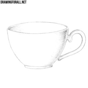 How to draw a cup