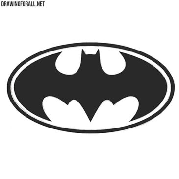 How to Draw Batman's Logo