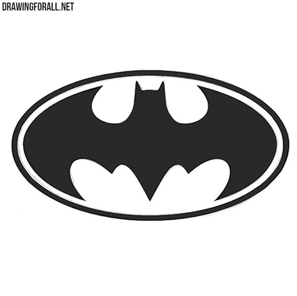 How to Draw Batman's Logo