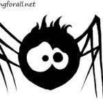 How to Draw a Spider for Kids