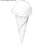 How to Draw an Ice Cream