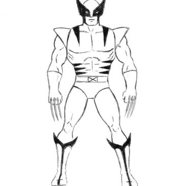 The Easiest Way to Draw Wolverine