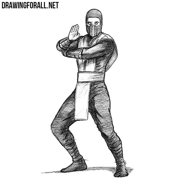 How To Draw Scorpion Drawingforall Net