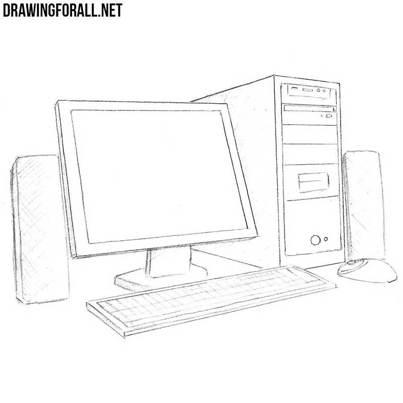 how to make sketches on the computer