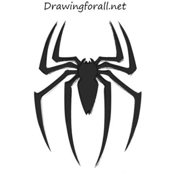 How to Draw Spider-Man Logo