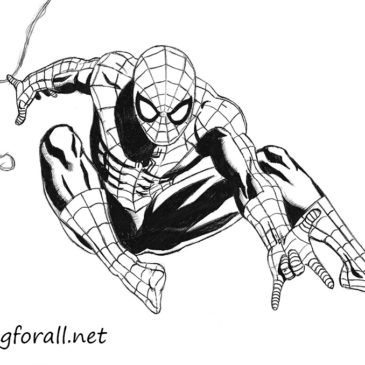 How to Draw Spider-Man