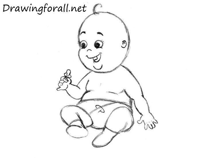 How to Draw a Baby for Beginners