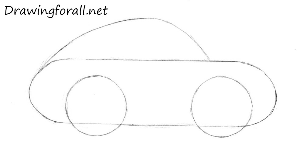 How to Draw a Car for Kids | Drawingforall.net