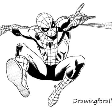How to Draw the Amazing Spider-Man