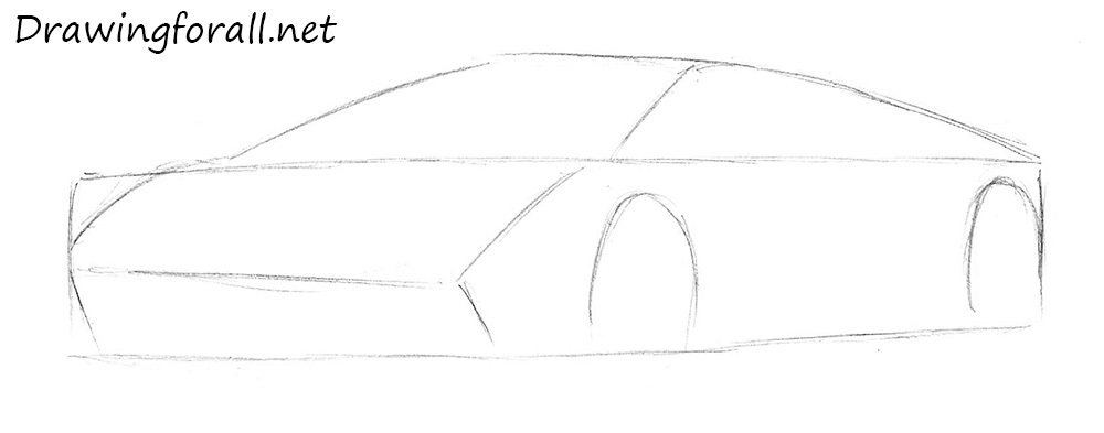 how to draw a car