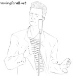 How to Draw Rick Astley