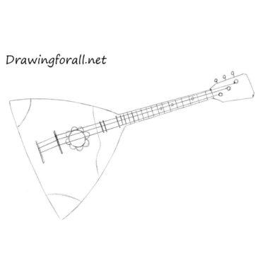 How to Draw a Balalaika