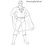 How to Draw Classic Superman