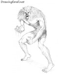 How to Draw Werewolf